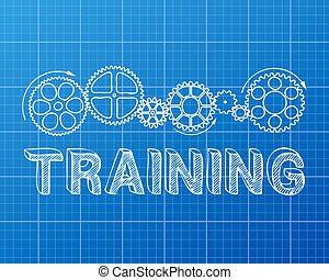 blueprint, treinamento