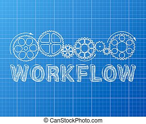 blueprint, workflow