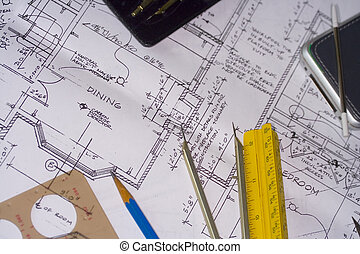 Blueprints 1 - architectural house plans