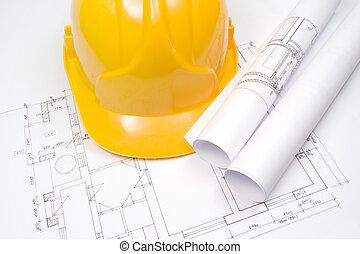 blueprints, a, helma