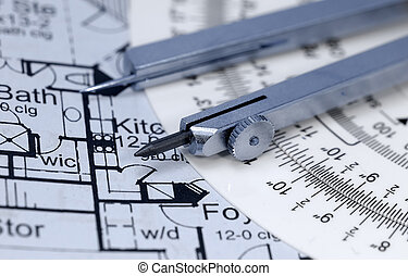 Drafting - Blueprints and Drafting Related Items