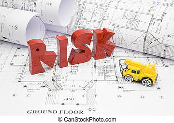 Blueprints and risk in the construction project