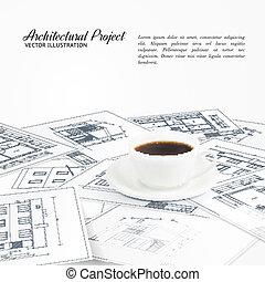 Blueprints sketches.