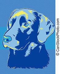 blues, dog