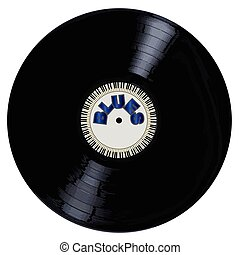 Blues Style Record