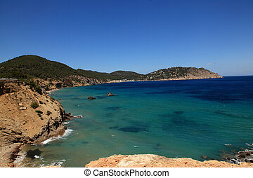 Bluesky - Landscape from Ibiza?s Mountain