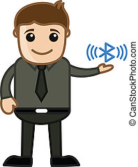Bluetooth - Business Cartoons