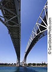 bluewater, γέφυρα