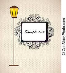 bluff design over beiga background vector illustration