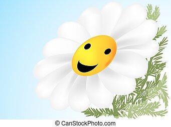 blume, glücklich