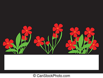 blume, rotes