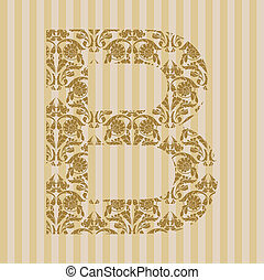 blumen-, b, font., brief