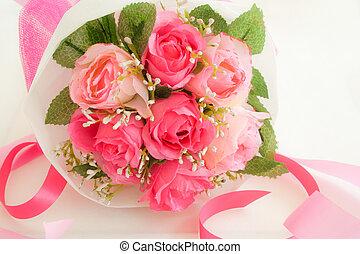 blumengebinde, rosen