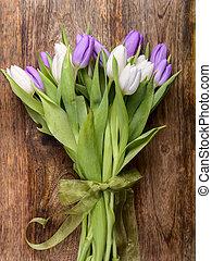 blumengebinde, tulpen