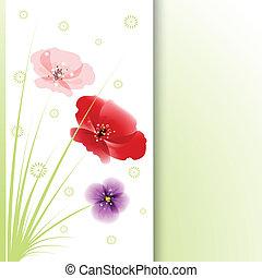 blumengebinde, von, flowers.