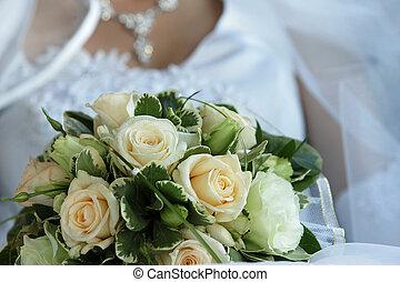 blumengebinde, wedding