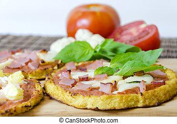 blumenkohl, pizza