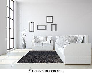 blumenvase, sofas, livingroom