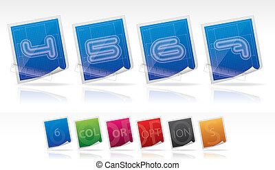 Bluprint font icons