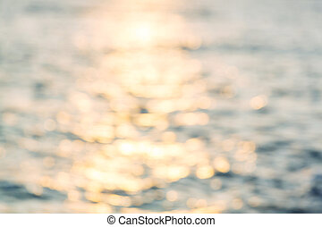Blur - Abstract blur  sea background
