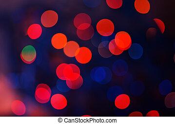 blur background - glitter vintage lights background. red and...