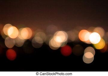 blur bokeh light