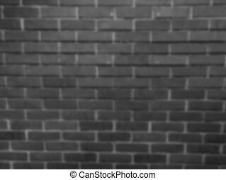 Blur brick dark wall background with vignette and classic.