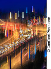 blur colors on the overpass
