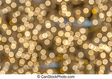 Blur light bokeh abstrac background concept