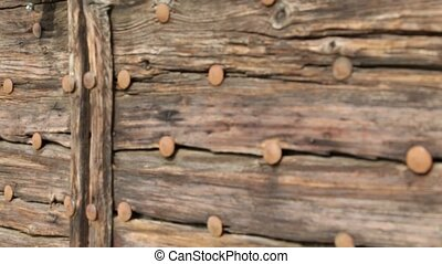old door  close up