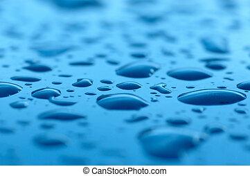 rain drops - blur tiny rain drops