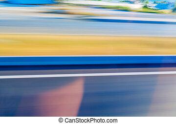 blured, coloridos, abstratos, movimento, fundo, velocidade, blurry