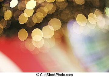Blured decoration