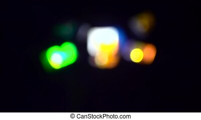 Blurred abstract background. Slow motion - Blurred abstract...