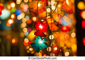 blurred abstract bokeh background for Decorations