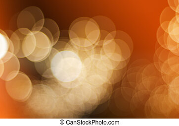 Blurred abstract bokeh background of night traffic with color filter