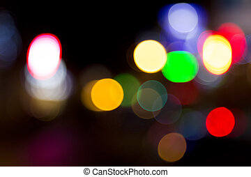 Blurred abstract decoration