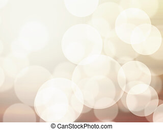 Blurred abstract light bokeh background