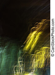 Blurred abstract lights.