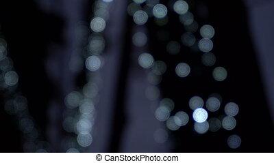 Blurred abstract lights - Nlurred abstract lights outdoor,...