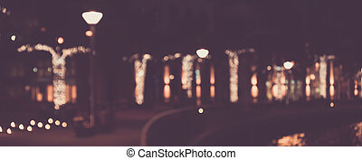 Blurred abstract urban background.