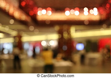 Blurred Background. - Blurred Background of light bokeh.
