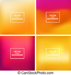 Blurred background - Abstract colorful blurred vector...