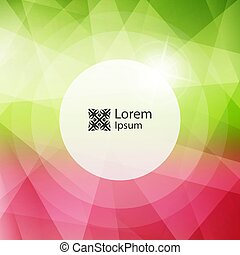 Blurred background. Modern pattern. Vector illustration with place for text.