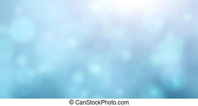Blurred background of blue color