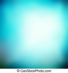 Blurred background, turquoise blue gradient soft texture