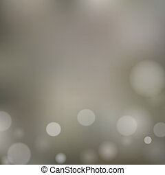 Blurred background with bokeh
