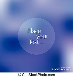 blurred background with place for your text vector illustration