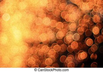 Blurred bokeh background.