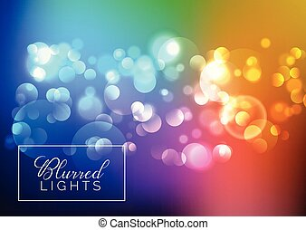 blurred bokeh lights background 3107